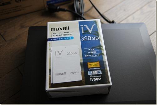 iVカセット 320GB