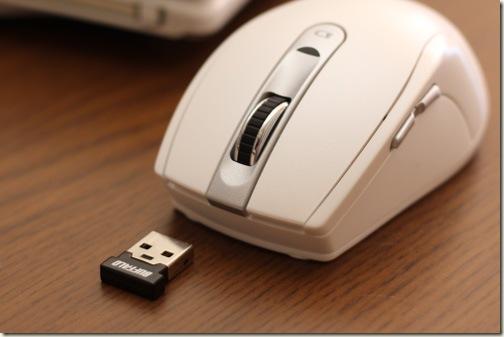 マウス本体と受信機
